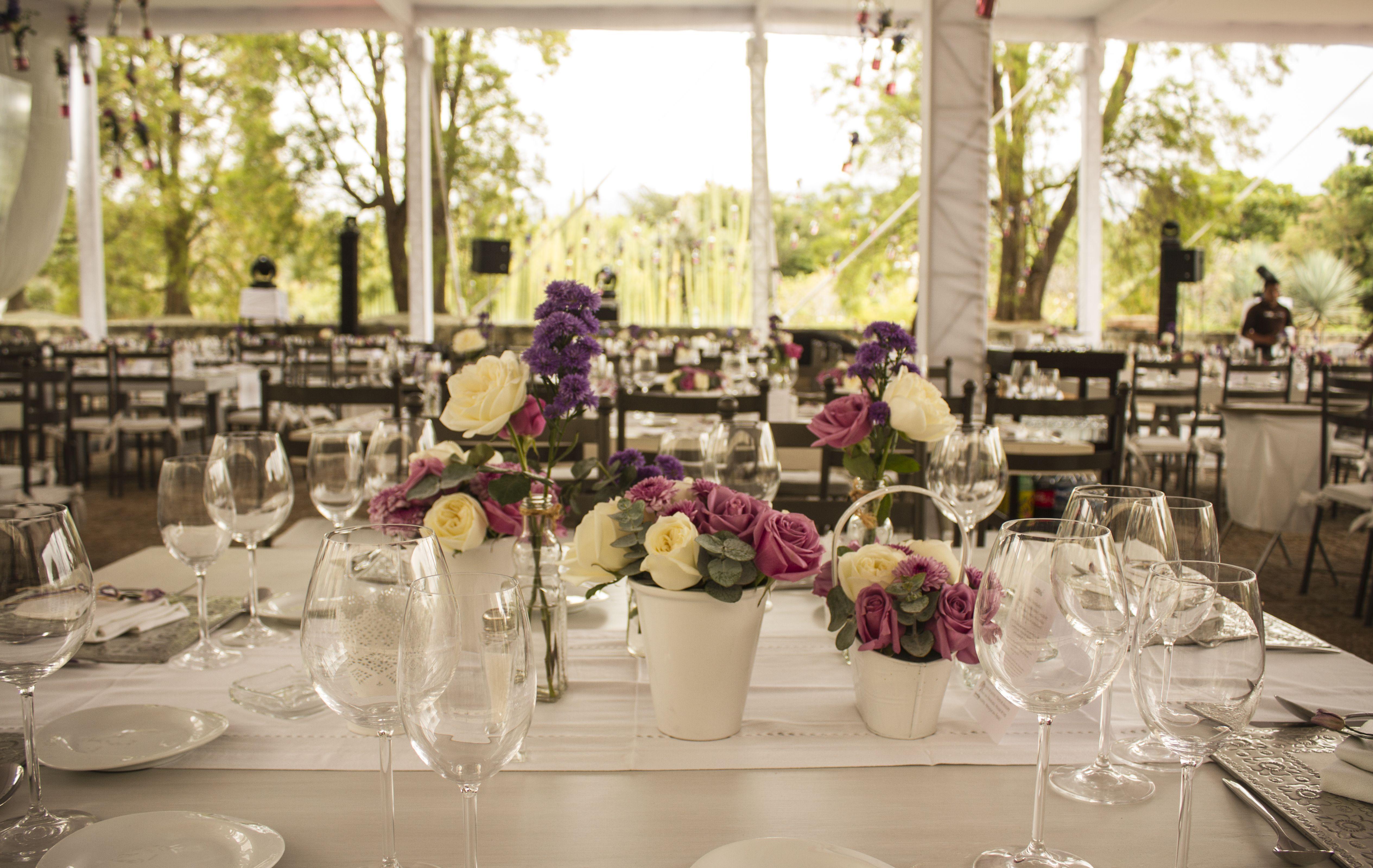 Jardin etnobotanico oaxaca boda de dia con elementos y for Bodas jardin botanico malaga