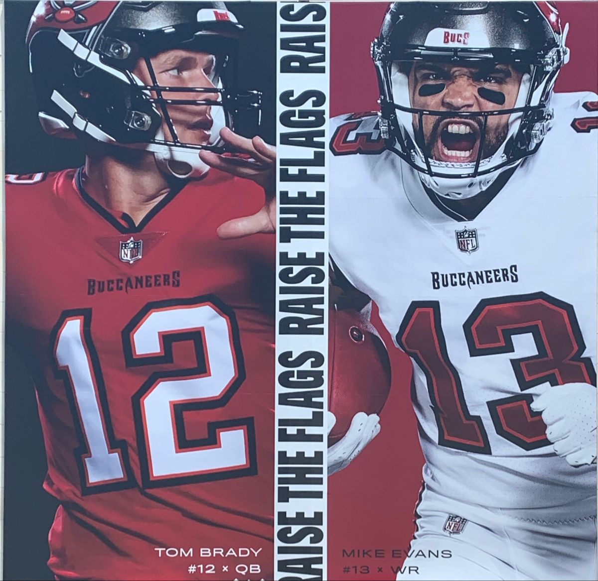 Bucs Player Banners In 2020 Mike Evans Football Helmets Sports Photos