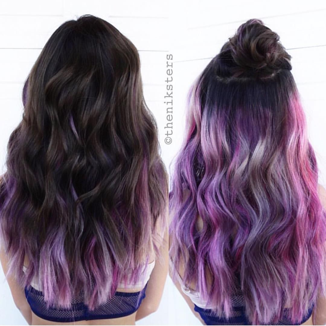 Schwarzkopf Professional Usa On Instagram It S What S Underneath That Counts Color By Theniksters Apass Hidden Hair Color Underlights Hair Peekaboo Hair