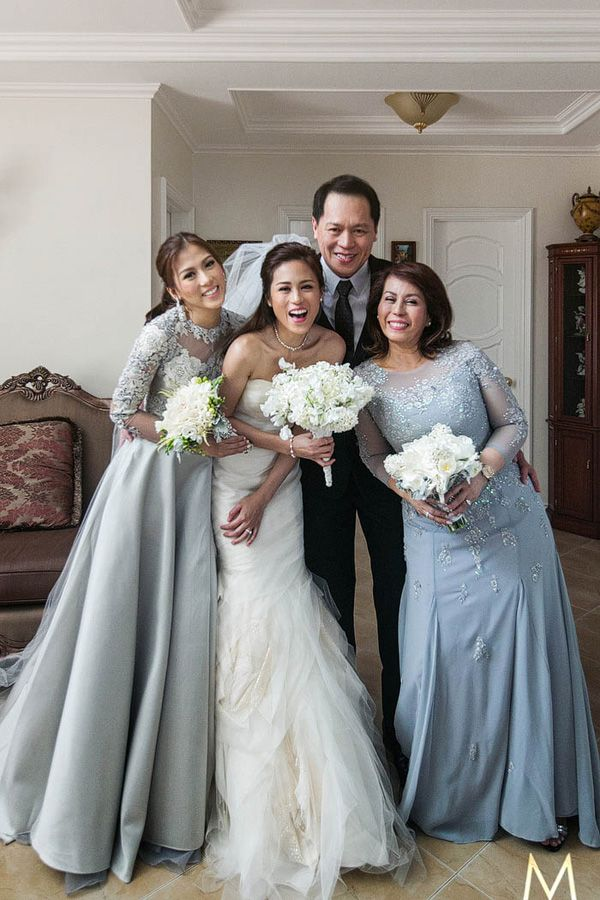 Celebrity Wedding Toni Gonzaga And Paul Soriano Wedding Preparation Photos Wedding Preparation Photos Wedding Entourage Wedding Entourage Dress