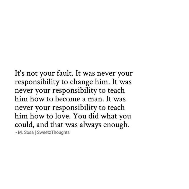 It's NOT your fault. Stop blaming yourself you did what you