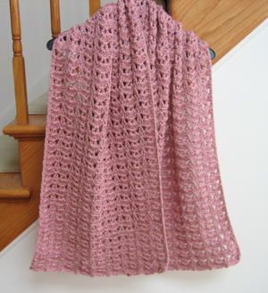 Princess Diana Vintage Crochet Shawl Pattern
