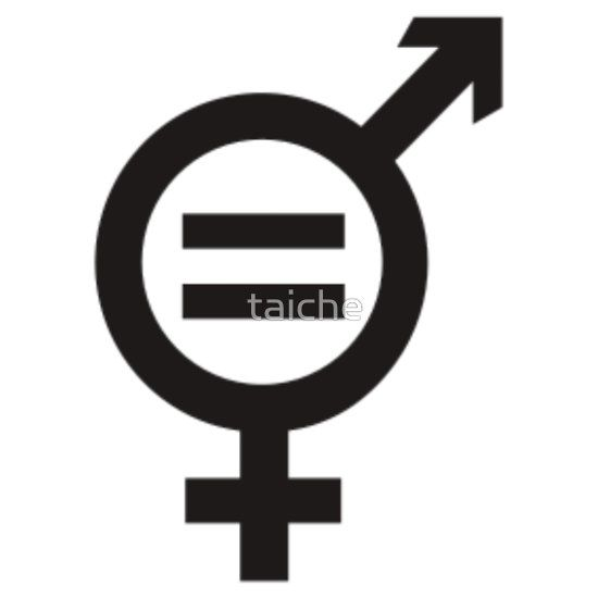 Equality Merged Male And Female Gender Symbols Essential T Shirt By Taiche Human Sexuality Gender Equality Poster Equality Tattoos