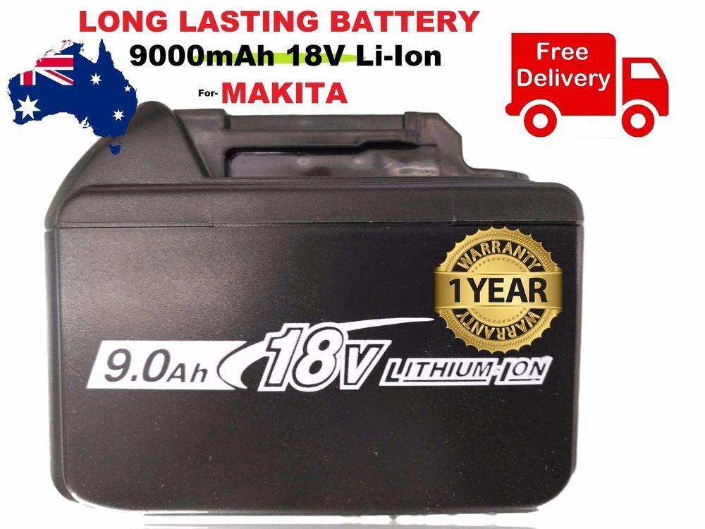 18V 90Ah Battery For Makita Power Tool FAST CHARGING 18V 9000mAh