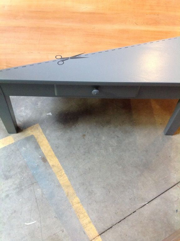 table basse - Mademoiselle Fabrique