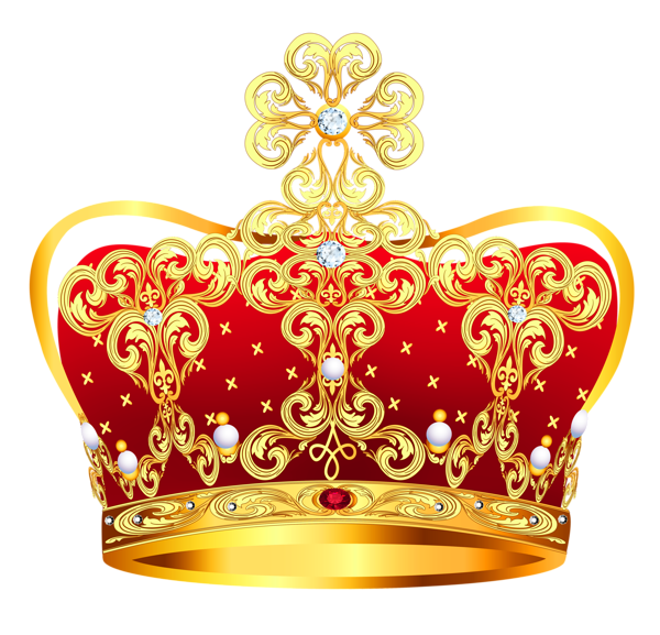 Gold And Red Crown With Pearls Png Clipart Picture Png 600 577 Korona Baleriny Logotip Dlya Salona