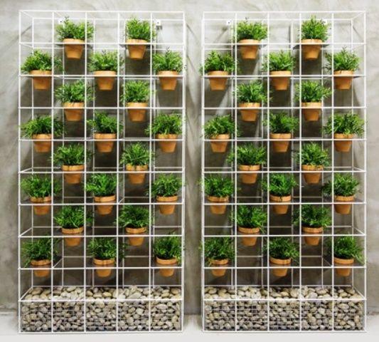 Idee per un orto verticale fai da te giardini terrazzi for Arredare un terrazzo fai da te