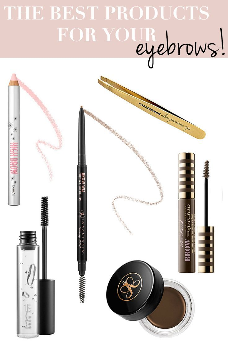 The Best Eyebrow Products Beauty Eyebrows Makeup Best Eyebrow