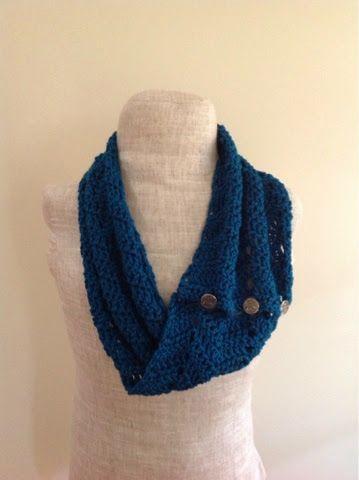 Undeniable Glitter: Zig Zag Cowl (free crochet pattern) | Crochet ...