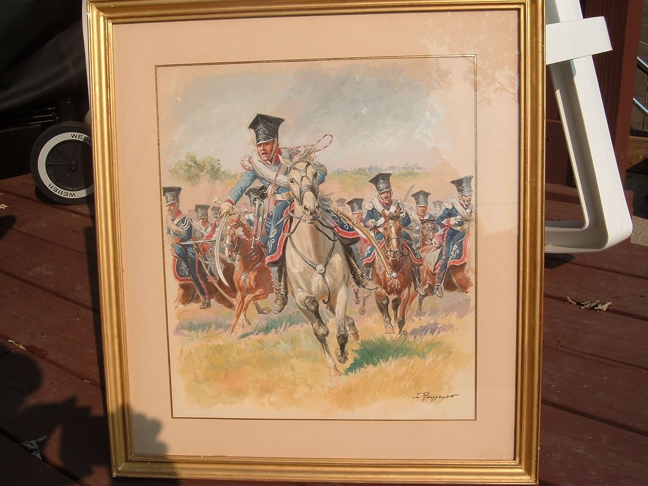 Lucien Rousselot Painting Art History