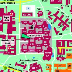 ZENTRALBEREICH der Universität Heidelberg