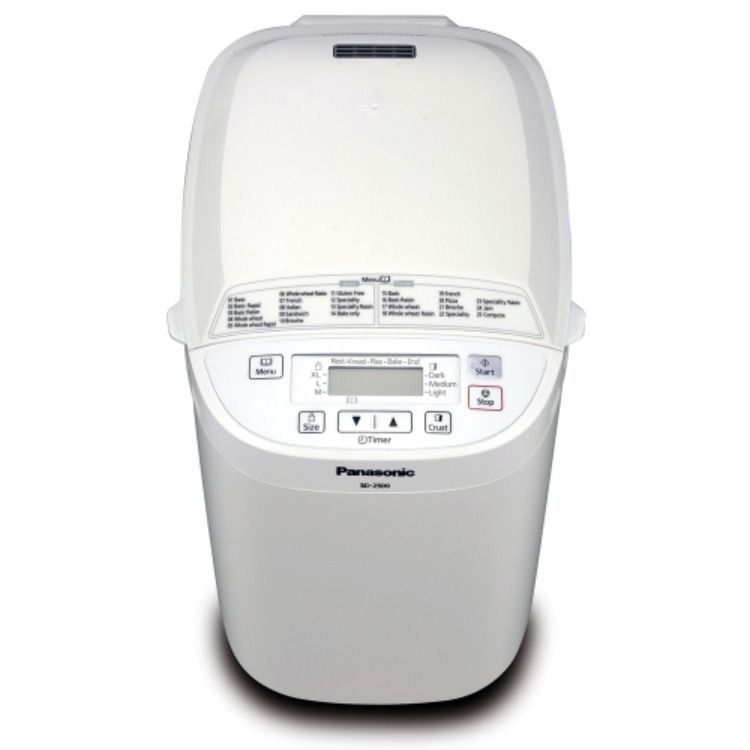 The Panasonic Bread Maker Provides The Convenience Of Freshly