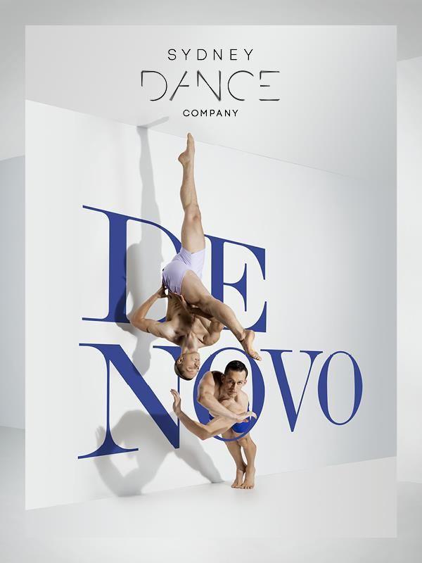 字體與人的舞蹈結合 海報設計 | MyDesy 淘靈感