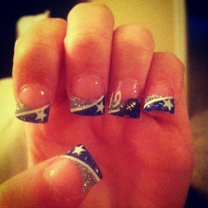 Dallas Cowboys Nail Polish Designs Best Nail 2018