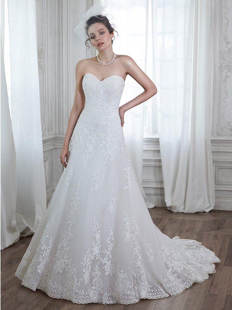 Maggie Sottero Corrina Style 5MB026 Wedding Gown Size 24 Diamond ...