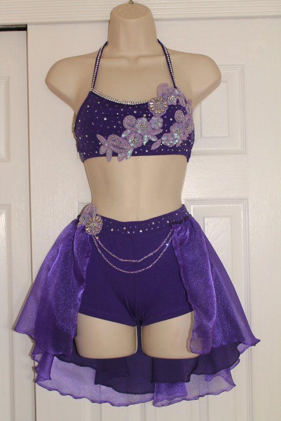 e4d64b4a0 Sassy Purple Dance Competition Costume Child Large | costumes | Costumes,  Jazz dance costumes, Dance costumes lyrical