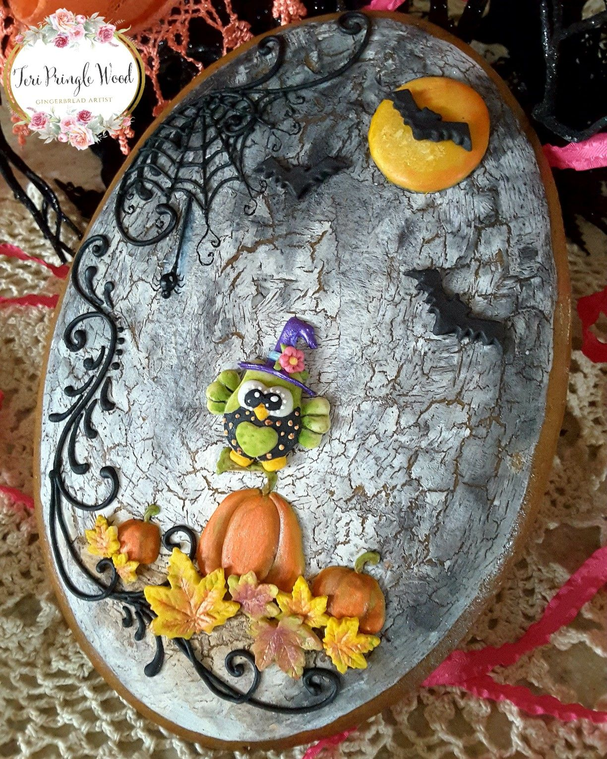 Halloween cookies, owl cookies, decorated cookies ...