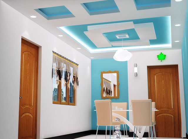 Image result for gypsum false wall and ceiling designs for the - Techos Interiores Con Luces