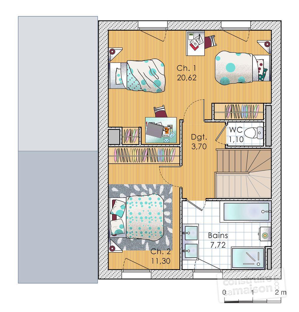 co concevoir sa maison maison tage tiny house plans house plans et house. Black Bedroom Furniture Sets. Home Design Ideas