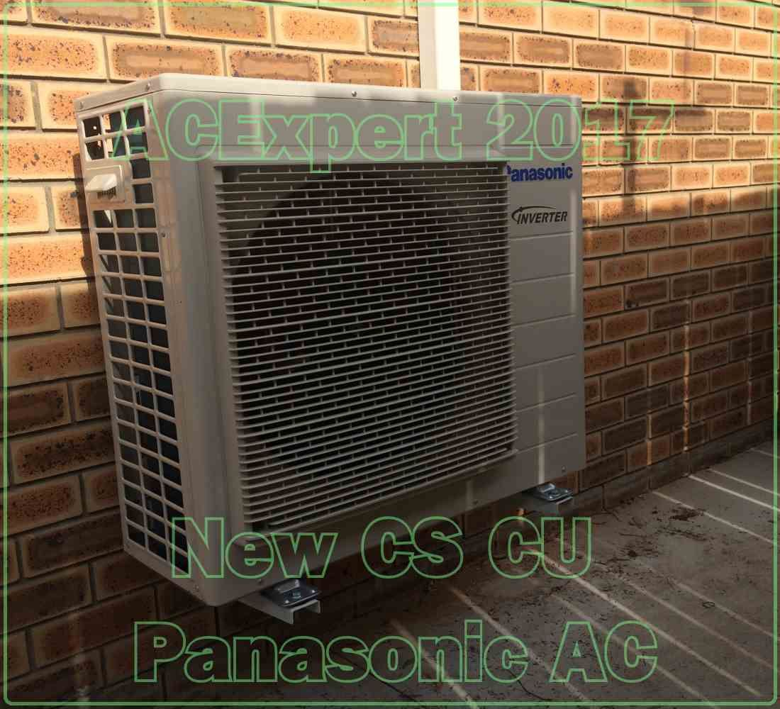 This Panasoinic, first in a series of new installs for