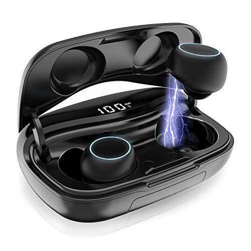 Touch Control Wireless Bluetooth 5.0 Kopfhörer Headset Wasserdicht Ladebox