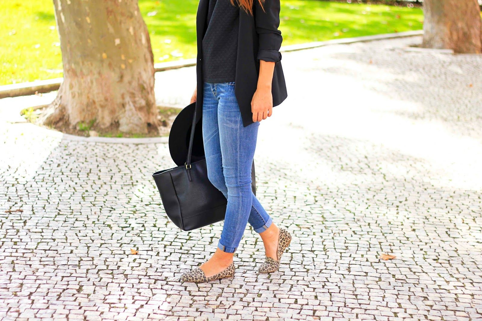 Miss Tangerine: Outfit // BLACK AND DENIM