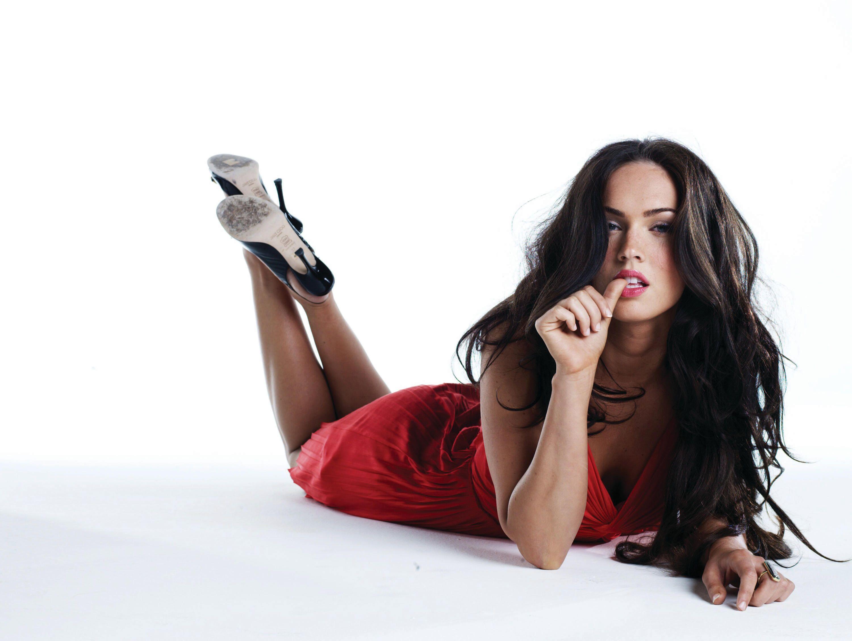 Megan Fox Red Dress Transformers Amazing Hot Desktop Wallpaper ...