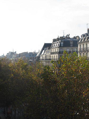 Autumn in Paris - boulevard Sébastopol, via Flickr.