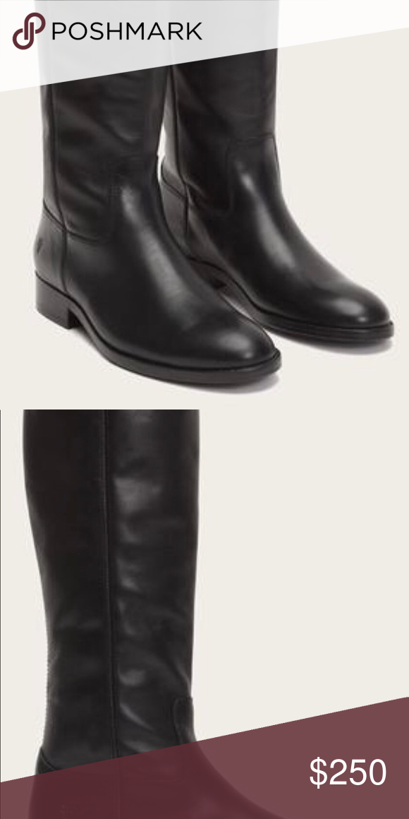 b284358672f Frye -Melissa Button 2 Tall Leather Boots in Black Frye - Melissa Button 2  Tall Leather Boots in Black. Never worn