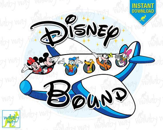 disney bound mickey airplane printable iron on transfer or use as rh pinterest dk disney world clip art images disney world clipart 2018