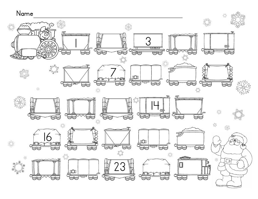 Polar Express Numbers Worksheet Polar Express Activities Polar Express Theme Polar Express Lessons