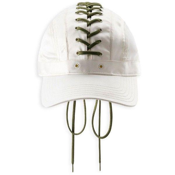 Fenty Puma x Rihanna Lace-Up Cap ( 85) ❤ liked on Polyvore featuring 0fa22431e33f