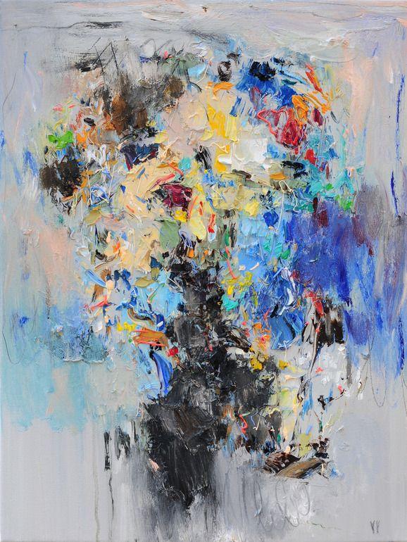 Saatchi Online Artist Yangyang Pan Oil 2012 Painting Abstract Portrait