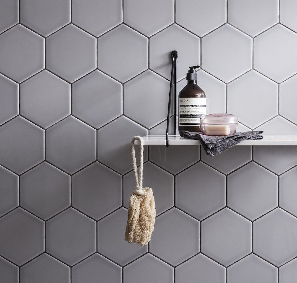 Image result for geometric tiles (With images) | Bathroom ...