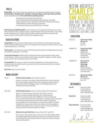 Resume  Resume Layout Business And Resume Ideas