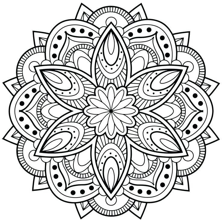 Flower Mandala Coloring Pages Best Coloring Pages For Kids Abstract Coloring Pages Mandala Coloring Books Mandala Printable