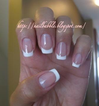 DIY French Manicure DIY Nails Art