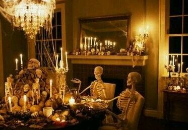 Halloween Dinner Party-  The guests are starved ;)