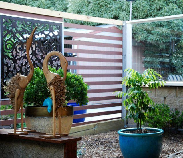 Garden Decor Screen: QAQ's 'Morocco' Decorative Garden Screen Design In