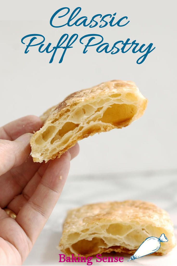 Baking School - How to Make Classic Puff Pastry - Baking Sense