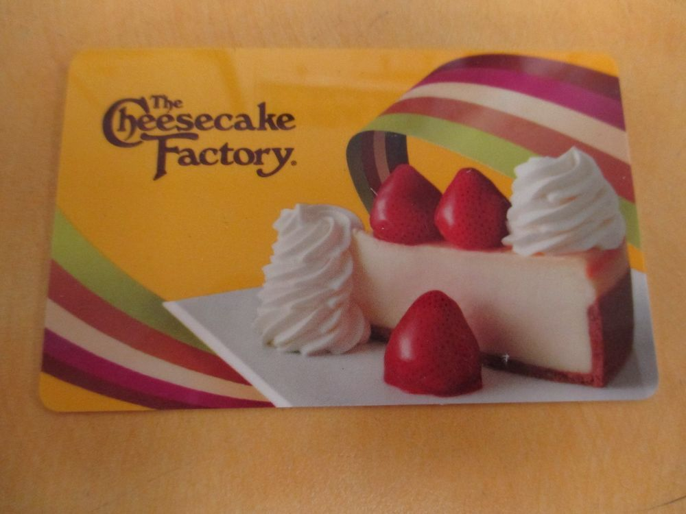 25 the cheesecake factory gift card thecheesecakefactory
