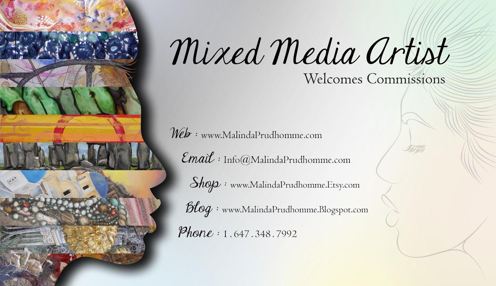 artist business cards - Google Search | Business Card | Pinterest ...