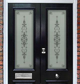 Mcs Contract Services Door Glass Design Etched Glass Door Glass Doors Interior