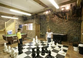 Giant Chess Set Ideas For Game Room Interior Design.best Game Room Images.  Indoor