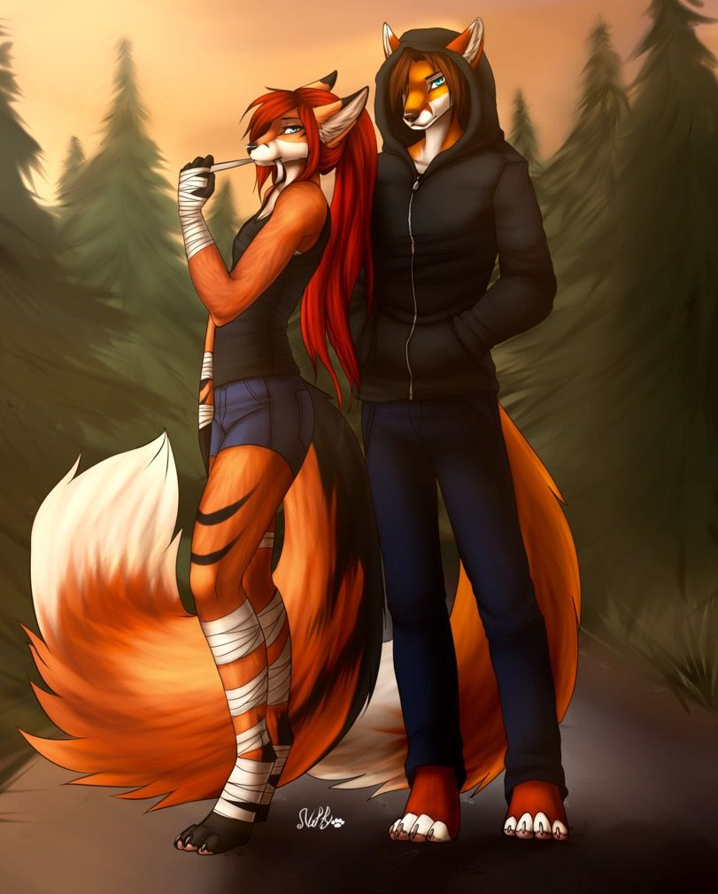 Furry Couple