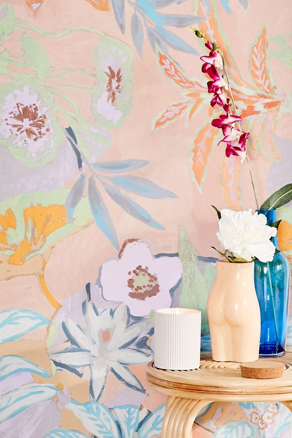 Clara Jungle Removable Wallpaper Removable Wallpaper Urban Outfitters Wallpaper Wallpaper