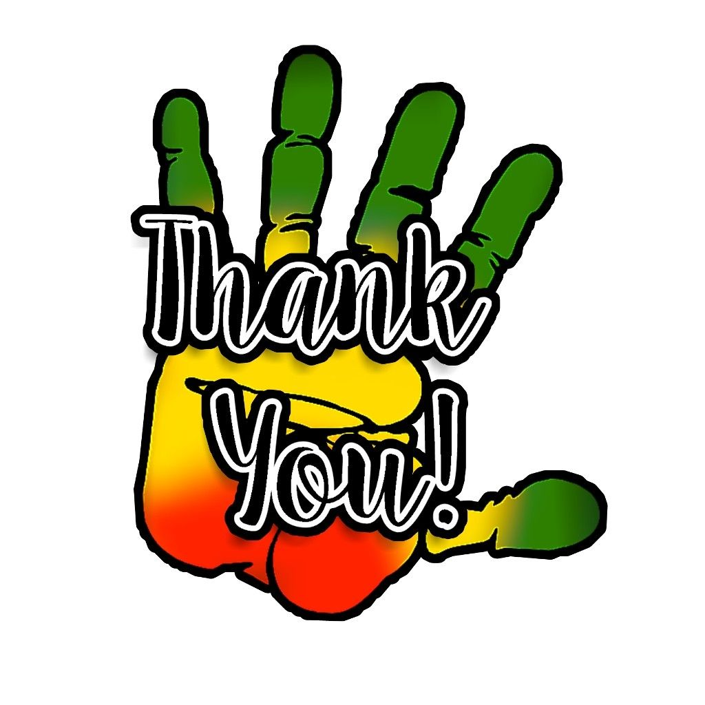 Thankyou merci dailyremix rasta vertjaunerouge dailystickerremix reggae thankyoustickers thankyoustickerremix hand main dubrootsgirlcreation