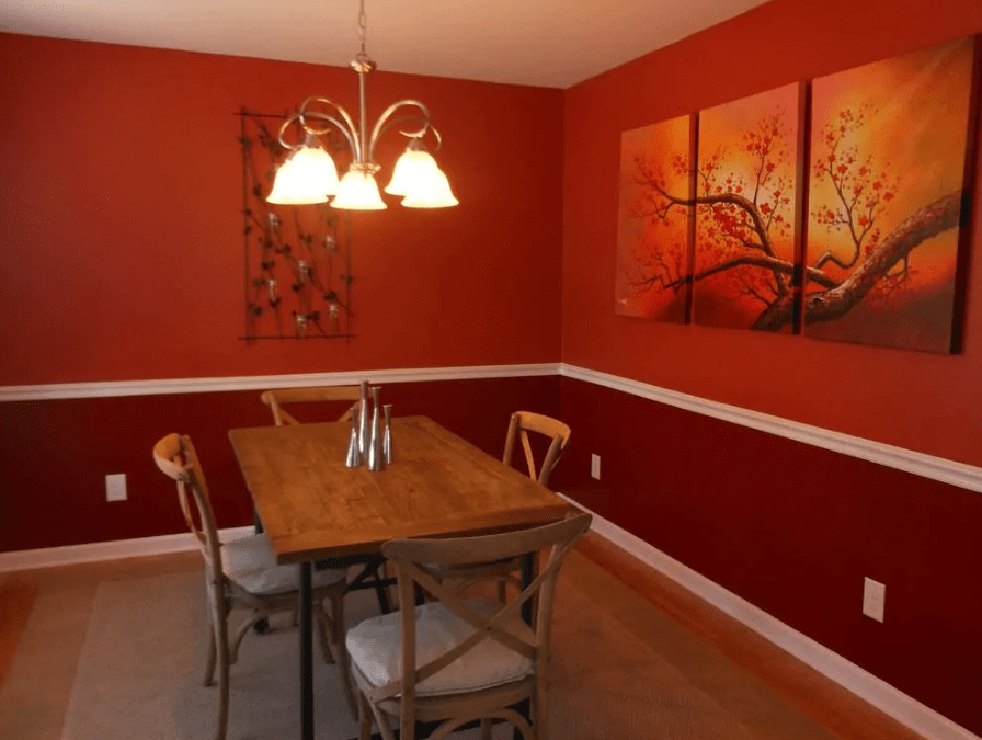 30 Stunning Red Dining Room Ideas - PinZones in 2020 | Red ...