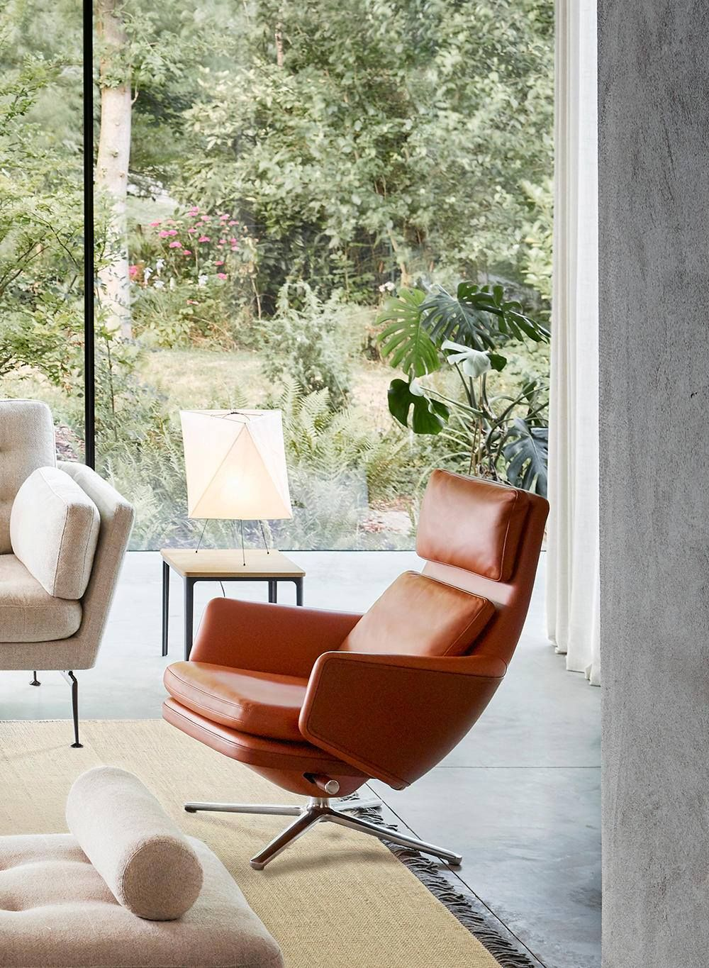 Vitra Relaxing Now Has A New Meaning The Gran Contemporary Designers Furniture Da Vinci Lifestyle Contemporary Furniture Design Furniture Design Lounge Chair