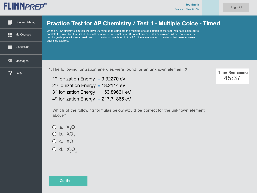 Flinnprep multiple choice questions for ap chemistry practice exam flinnprep multiple choice questions for ap chemistry practice exam fandeluxe Images